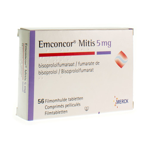 Emconcor Mitis 5 Mg (56 Tabletten)
