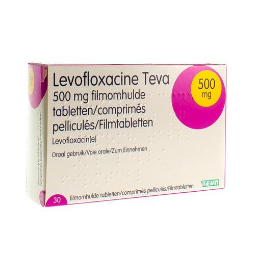 Levofloxacine Teva 500 Mg (30 Comprimes)