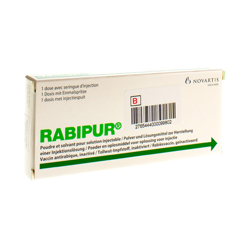 Rabipur Vaccin 1 Ml (1 Flacon)