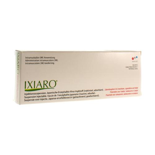 Ixiaro Vaccin (1 Seringue)