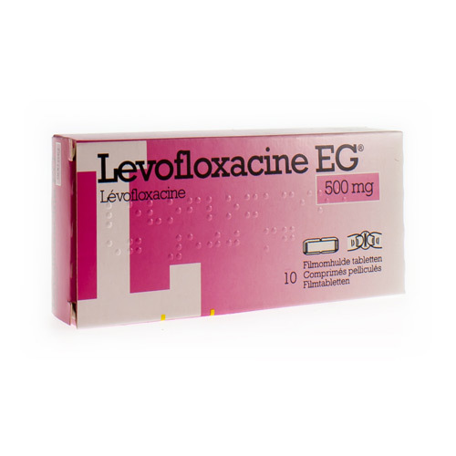 Levofloxacine EG 500 Mg (10 Comprimes)