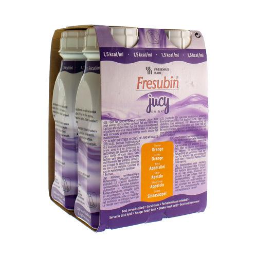 Fresubin Jucy Drink Orange 4X200Ml