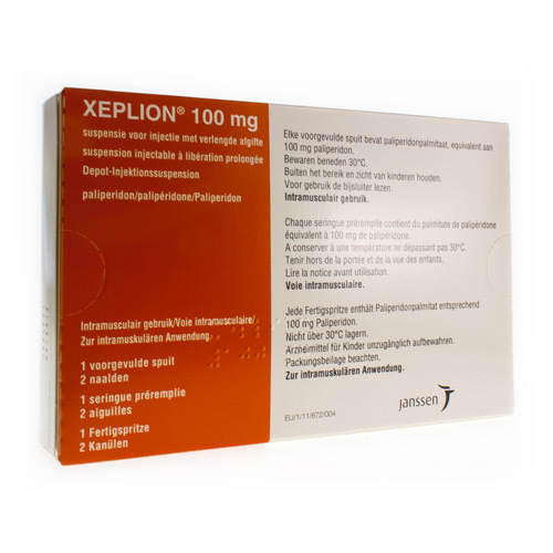 Xeplion 100 Mg (1 Seringue)