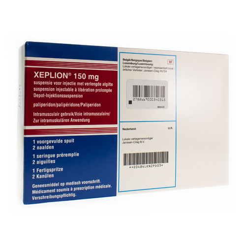 Xeplion 150 Mg (1 Seringue)