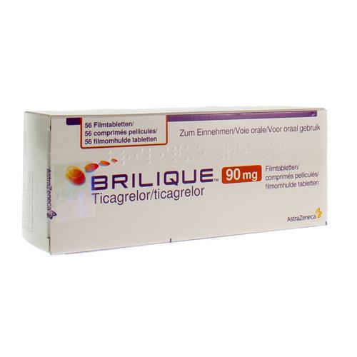 Brilique 90 Mg  56 Comprimes