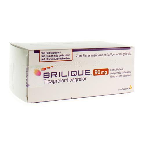 Brilique 90 Mg  168 Comprimes