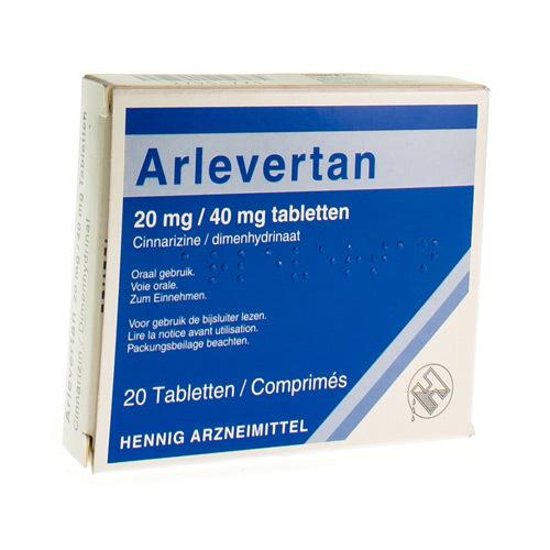 Arlevertan 20 Mg / 40 Mg  20 Comprimes