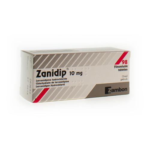 Zanidip Pi Pharma 10 Mg (98 Comprimes)