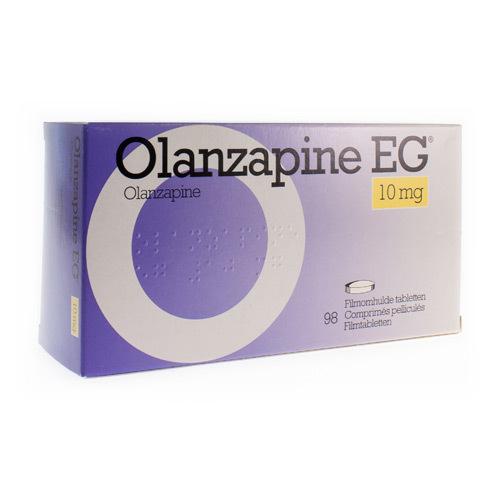 Olanzapine EG 10 Mg (98 Comprimes)