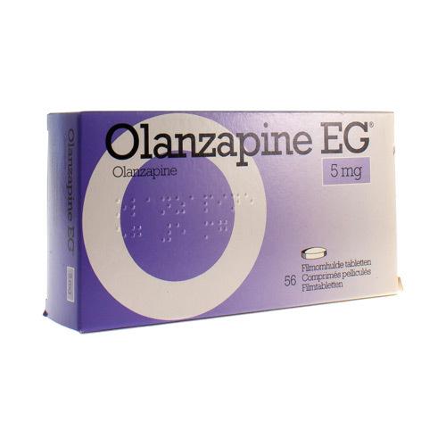 Olanzapine EG 5 Mg (56 Comprimes)