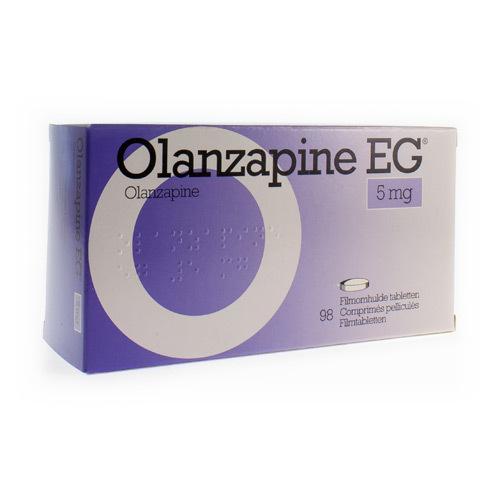 Olanzapine EG 5 Mg (98 Comprimes)
