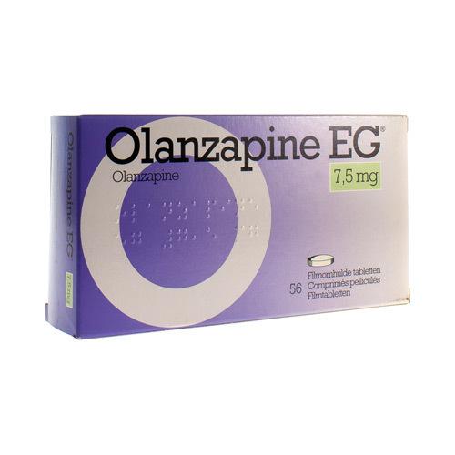 Olanzapine EG 7,5 Mg (56 Comprimes)
