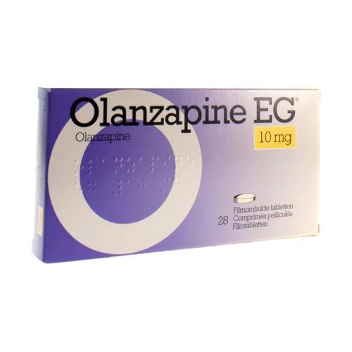Olanzapine EG 10 Mg (28 Comprimes)