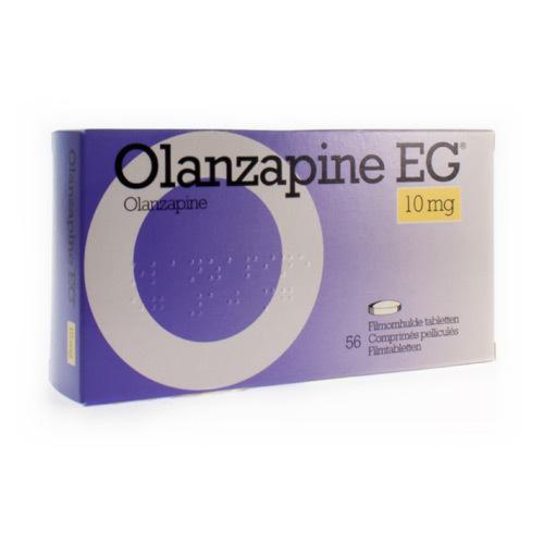 Olanzapine EG 10 Mg (56 Comprimes)