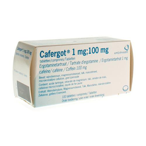 Cafergot 1 Mg / 100 Mg  100 Tabletten