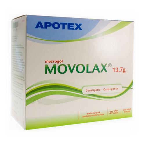 Movolax Apotex 13,7 G (20 Sachets)