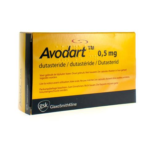 Avodart Impexeco 0,5 Mg  30 Capsules