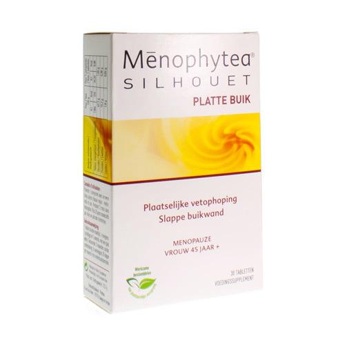 Menophytea Silhouet Platte Buik 30Caps