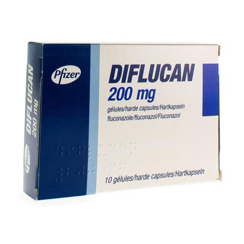 Diflucan 200 Mg  10 Capsules