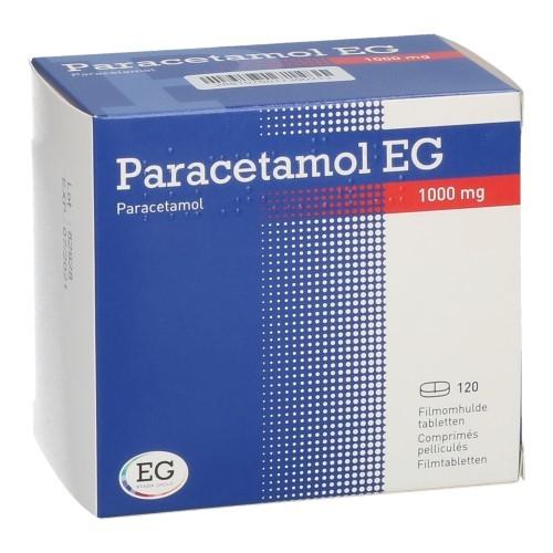 Paracetamol EG 1000 Mg (120 Comprimes)