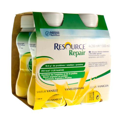Resource Repair Vanille (4 X 200 Ml)