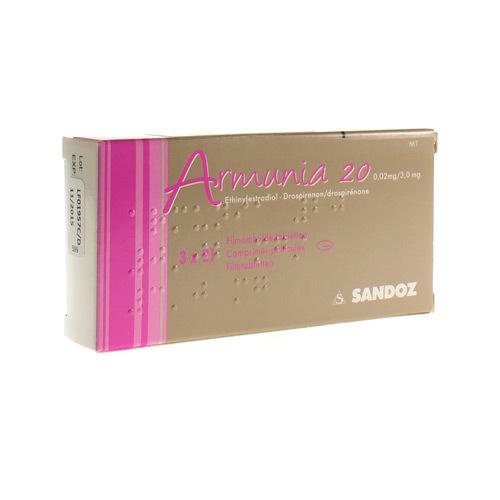 Armunia 20 0,02 Mg / 3 Mg  3 X 21 Comprimes