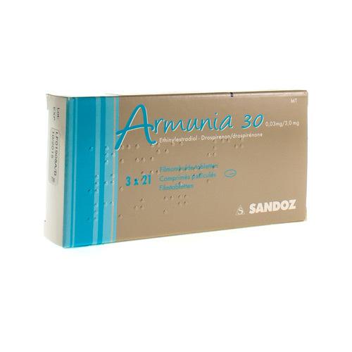 Armunia 30 0,03 Mg / 3 Mg  3 X 21 Comprimes