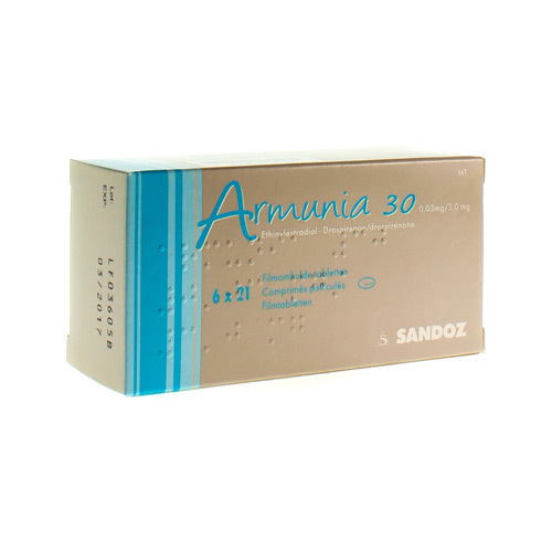 Armunia 30 0,03 Mg / 3 Mg  6 X 21 Comprimes