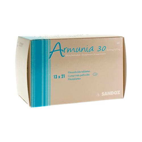 Armunia 30 0,03 Mg / 3 Mg  13 X 21 Comprimes