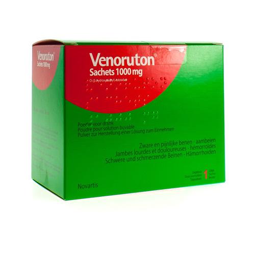 Venoruton Impexeco 1000 Mg (30 Zakjes)