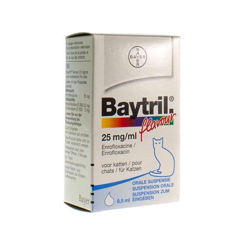 Baytril Veterinaire 25 Mg/Ml  8,5 Ml