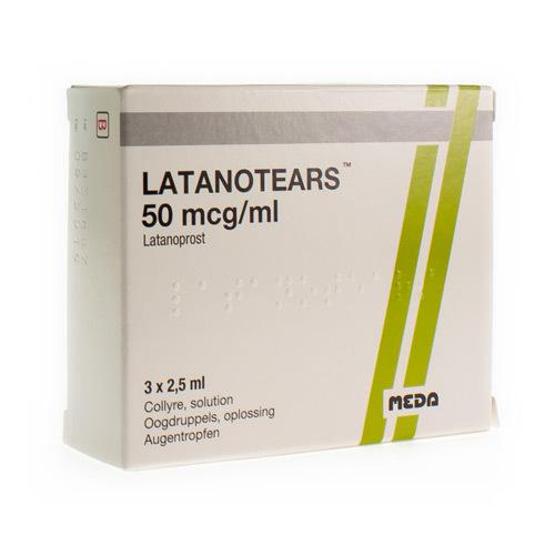 Latanotears 50 Mcg/Ml (3 Flacons)