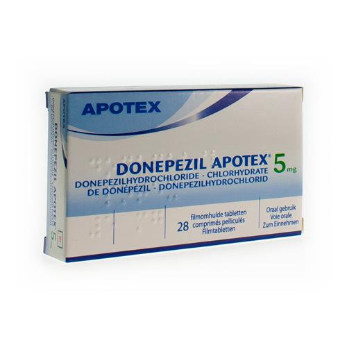 Donepezil Apotex 5 Mg  28 Comprimes