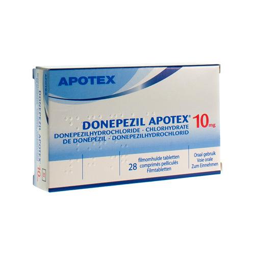 Donepezil Apotex 10 Mg  28 Comprimes