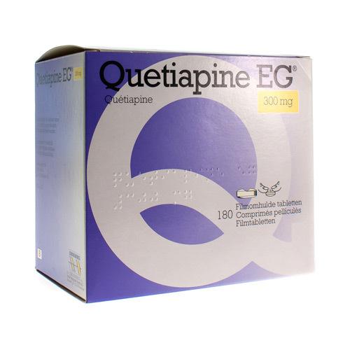 Quetiapine EG 300 Mg (180 Comprimes)