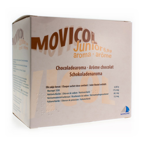 Movicol Junior Arrome 6,9 G (30 Sachets)