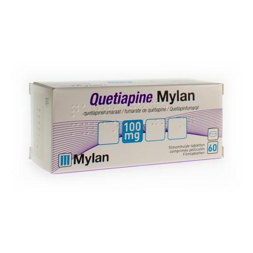 Quetiapine Mylan 100 Mg (60 Comprimes)