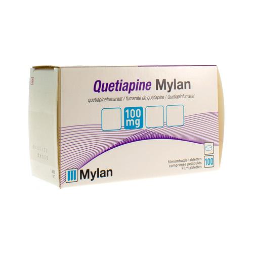 Quetiapine Mylan 100 Mg (100 Comprimes)