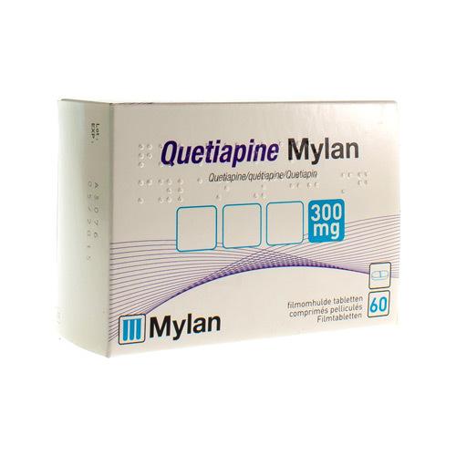 Quetiapine Mylan 300 Mg (60 Comprimes)