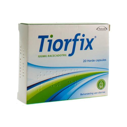 Tiorfix 100 Mg (20 Capsules)