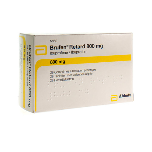 Brufen Retard 800 Mg  28 Tabletten