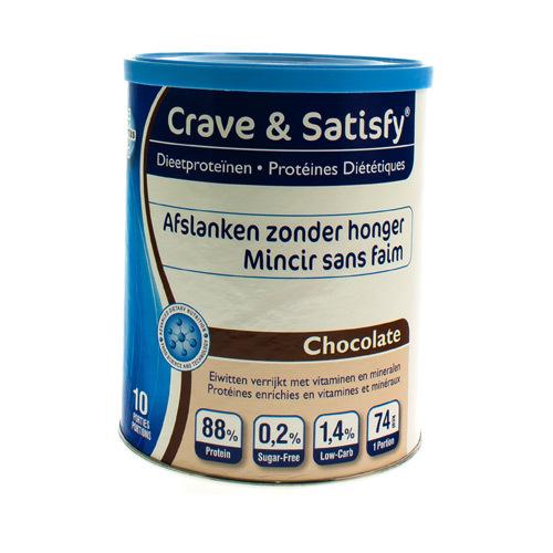 Crave Satisfy Protein Chocolade 200G