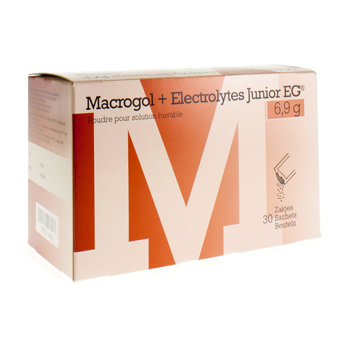 Macrogol + Electrolyt EG Junior 30Sach