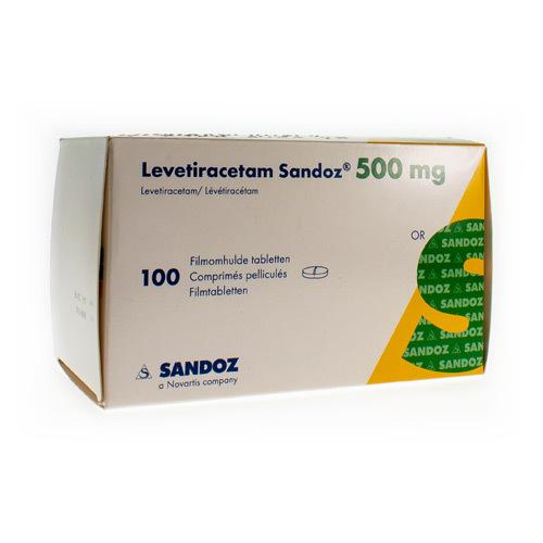 Levetiracetam Sandoz 500 Mg (100 Comprimes)