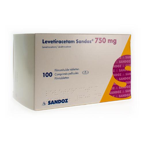 Levetiracetam Sandoz 750 Mg (100 Comprimes)