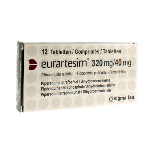Eurartesim 320 Mg / 40 Mg (12 Comprimes)