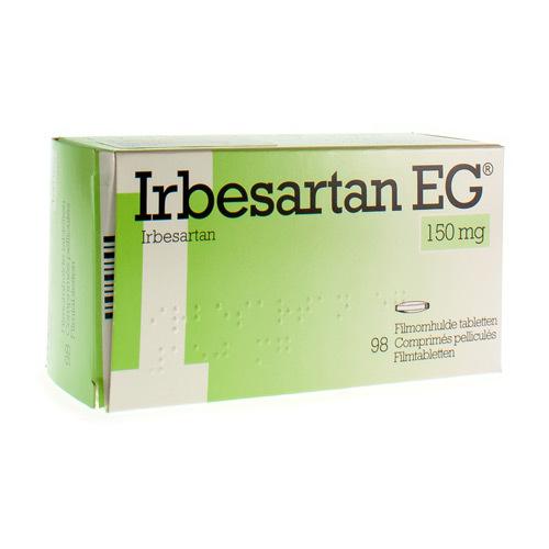 Irbesartan EG 150 Mg (98 Comprimes)