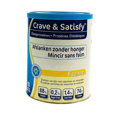 Crave Satisfy Protein Eggnog  200 Gram