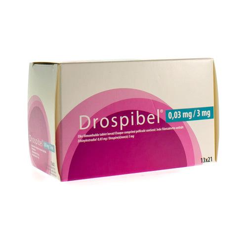 Drospibel 0,03 Mg / 3 Mg  13 X 21 Comprimes