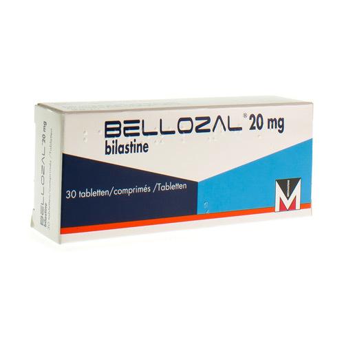 Bellozal 20 Mg  30 Comprimes